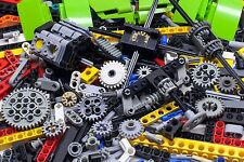 500 LEGO Pieces Technic Bricks Parts Set Gears Box Huge Bulk Lot 1lbs kg Motor