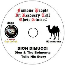 Alcoholics Anonymous AA 12 Step Speaker CD - Dion Dimucci Tells His Story