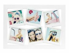 "Balvi MULTI PHOTO FRAME INSTAMATIC 6 Polaroid Display 10x10cm 4x4"" Wall Mount"