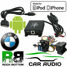 BMW 3 Series E46 1999-2006 Car Stereo Radio iPod iPhone 4 5 6 & Aux In Interface