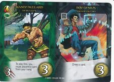 HERCULES Upper Deck Marvel Legendary AMADEUS CHO MANLY DULLARD/BOY GENIUS DUAL