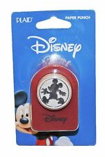 "NEW Disney Mickey Mouse Body Silhouette 1"" Diameter Paper Punch Scrapbooking"