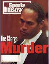 1994 Sports Illustrated Buffalo Bills MURDER O.J.Simpson Subscription Issue Exc