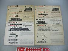 AE564-3# 10 Arnold Escala n Instrucciones Locomotoras a vapor 0220,0221,