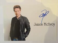 James McAvoy AUTOGRAPHED picture photo