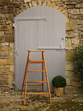 French Provincial circa 1940's vintage library ladder