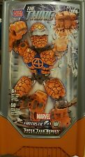 """Mega Bloks Marvel Fantastic 4 The Thing 50 Pieces 8"""" Inch Figure Brand New Mint"""