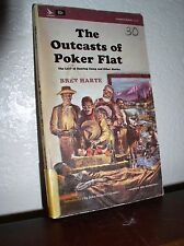 The Outcasts of Poker Flat by Bret Harte (Airmont #CL51,1964,Paperback)