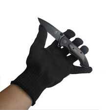 Good Quality Knife-resistant Gloves Cut Safety Work Durable Gloves Black