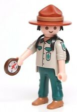 Playmobil Figure Mystery Series 9 Forest Ranger Boy Scouts Leader Backpack 5598