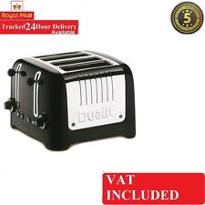 Dualit Brushed Stainless Steel Grey 4 Slice/Slot Lite Toaster DPP4