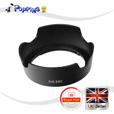 High Quality  Lens Hood For CANON EW-63C EF-S 18-55mm f/3.5-5.6 IS STM