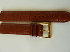 Raymond Weil Men's brown 18mm watch strap new