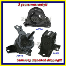 1998-2002 Honda Accord 2.3L Engine Motor & Trans. Mount Set 3PCS for Auto Trans.