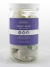 Summit Relax Bath Tea Salts Collection pennyRae NEW natural lavender lemon rose