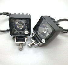 2 x Monark Mini LED FAROS trabajo 12 & 24v work lamp for camión tráiler ATV