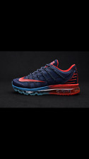 2016 Mens Blue/Red NIKE Air Max Running Shoes - Size 10 - Brand New