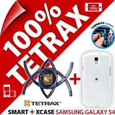 Nouveau tetrax bundle Smart en Voiture Vent Holder + xcase blanc pour Samsung Galaxy S4
