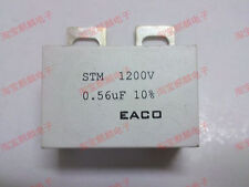 EACO STM-1200-0.56 1200V 0.56UF IGBT Non Inductive Absorption Capacitor #J143 lx