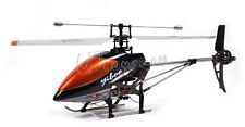 "Large 17"" 4CH 2.4GHz Single blade RC Helicopter uj368 Orange US seller"