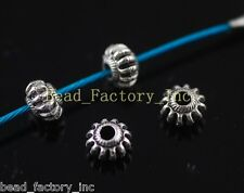 Wholesale Lots 50ps Crafts Jewelry Making Spacer Beads Charms Findings 6*4mm