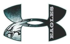 "Under Armour Philadelphia Eagles  Football Truck/Window Decal Sticker 11.5""x7"" ."