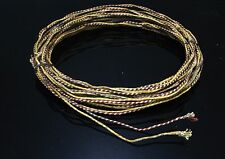 20'S Western Electric 18GA waxed cloth copper single wire  5meter* 2pcs