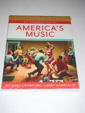 An Introduction to AMERICA'S MUSIC by Crawford, Hamberlin 2e 2013 NEW