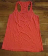 LULULEMON racerback tank rose red size 12 cotton