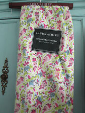 "Laura Ashley--Supreme Velvet Throw--50""x 70""--Kenton Ditsy--Pink/Lime/White--New"