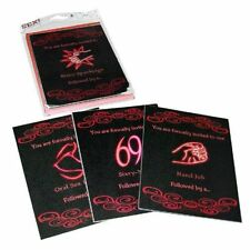 Sex Coupons Sex Invitations Sexy Gift Christmas Stocking Stuffer - Adult Game!