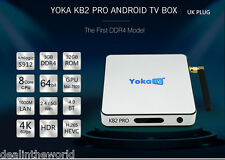YOKA KB2 PRO Android 6.0 Octa Core Smart TV Box 3G/32G Bluetooth 4.0 UK PLUG