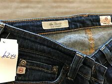 "AG Adriano Goldschmied the Stevie Slim Straight 25R waist 26"" rise 7"" inseam 30"""