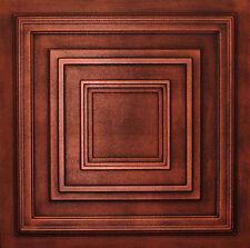 Styrofoam Ceiling Tiles 20x20 Painted R33 Antique Copper