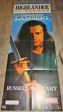HIGHLANDER   !   affiche cinema model rare