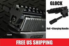 Strike Industries Glock Tactical Rear Sight Rail Mount Adapter w Extended Rod
