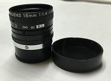 New!!   TV Lens 16mm  1:1.4