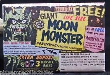 "Giant Moon Monster Comic Book Ad 2"" X 3"" Fridge / Locker Magnet. Unique Gift!"