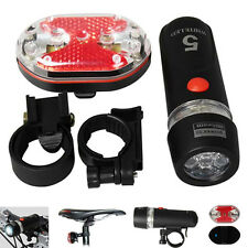 Bike Bicycle Front Light Headlight Taillight Holder LED Lamp Rear Flashlight New