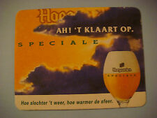 Beer Coaster ~ Brouwerij van Hoegaarden Speicale Bier ~ Light from Clouds Design