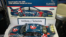 CLASSIC 1/18 V8 SUPERCARS RUSSELL INGALL SBR #1 2006 CAR FORD BA FALCON 18245