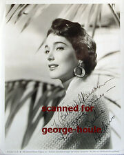 JULIE ADAMS - 8X10 - VTG - INSCRIBED - CREATURE FROM THE BLACK LAGOON