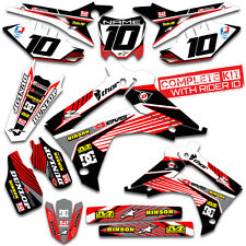 2013 2014 2015 2016 HONDA CRF 450R GRAPHICS KIT CRF450R  DECO CRF 450 DECALS