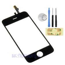 VITRE ECRAN TACTILE POUR IPHONE 3GS NOIR + OUTILS + ADHESIF 3M + FILM + VENTOUSE