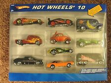 "2006 HOT WHEELS ~ 10 Pack Set WITH ""RARE"" LUNA LU DAIRY DELIVERY VAN & VW"