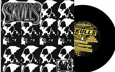 "Skulls -  Graveyard Signal 7"" Bees Colors Mindless Zombies AOD New Jersey Punk"