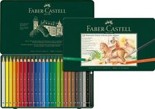 Faber Castell Albrecht Durer Magnus Watercolour Pencils 24 Tin - Large Diameter