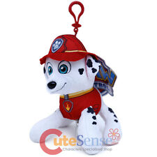 Paw Patrol Marshall Plush Doll Key Chain Coin Bag Clip On Hanger