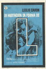 Programa de CINE. Título: LA HABITACIÓN EN FORMA DE L.
