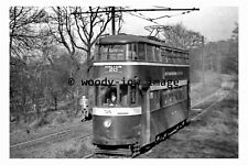 pu0085 - Leeds Tram no 526 at Middleton Woods - photograph